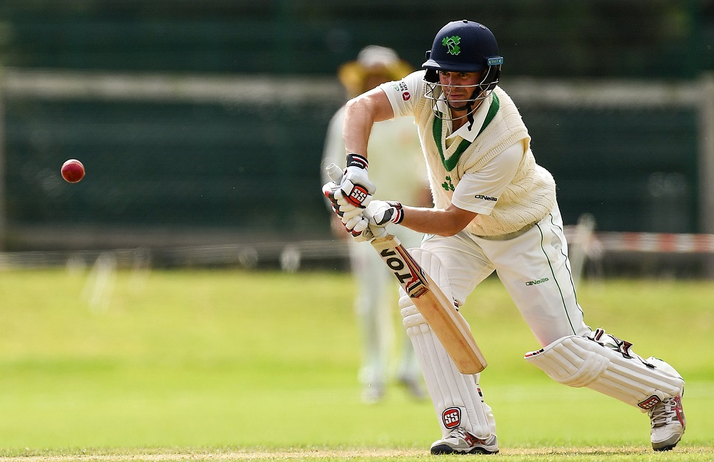 Ireland's first Test match will be on home soil against Pakistan