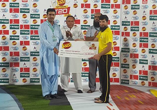Peshawar defeat Karachi Whites by three wickets in the National T20 Cup