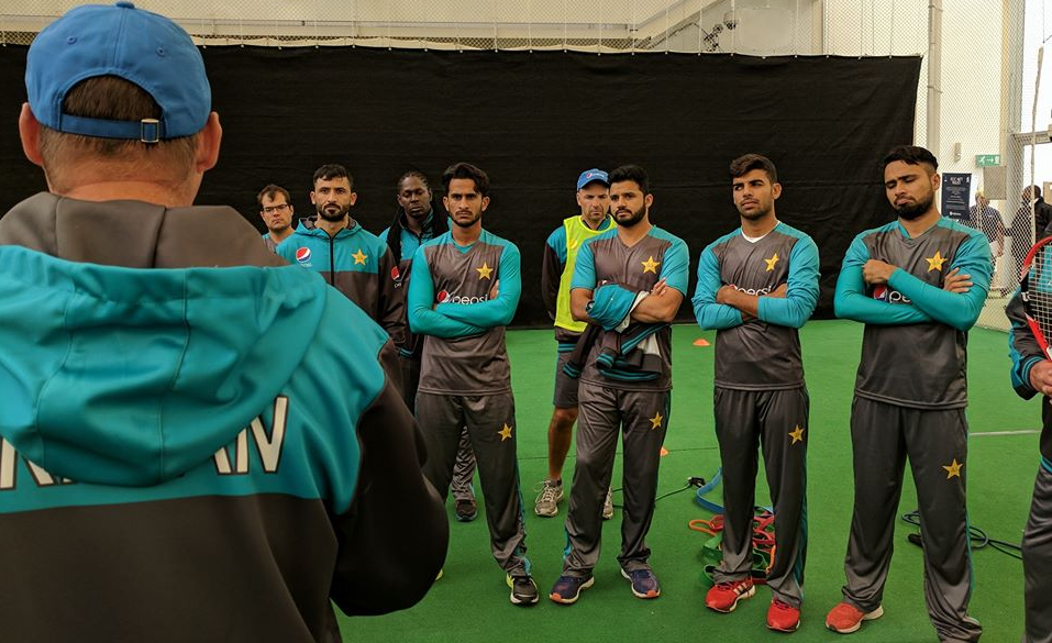 Pictures from Pakistan's training camp in Birmingham