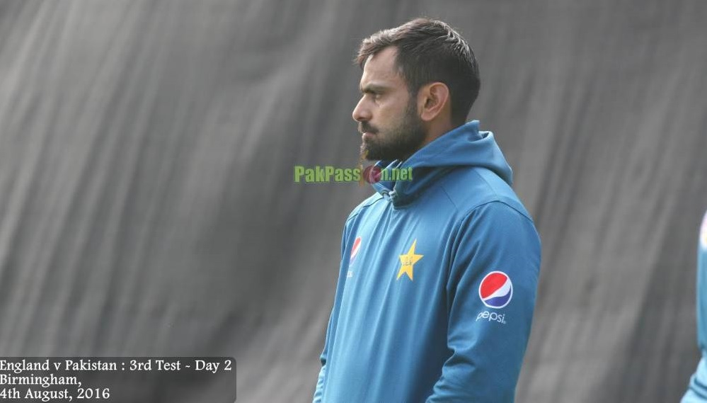 Mohammad Hafeez unhappy with PCB after being demoted