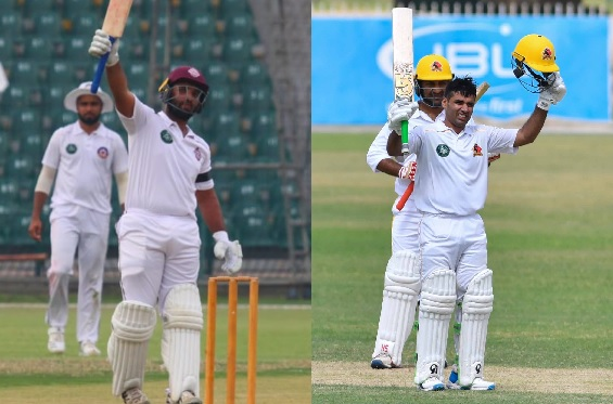 Sami Aslam and Abid Ali hit double-hundreds on Day 2 of the 1st Round of Quaid-e-Azam Trophy