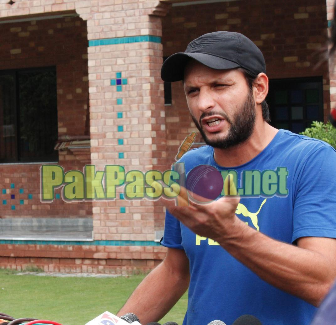 Shahid Afridi Wants Dignified Exits for Pakistan Seniors